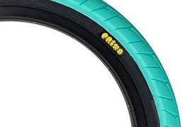 Primo 555c Tyre 2.45″ Teal/ Black